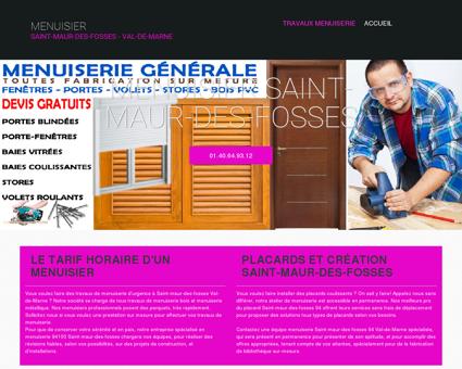 Entreprise Menuisier 94100 Saint-maur-des...