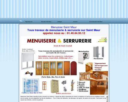Menuisier Saint Maur tel: 06.60.42.58.26...