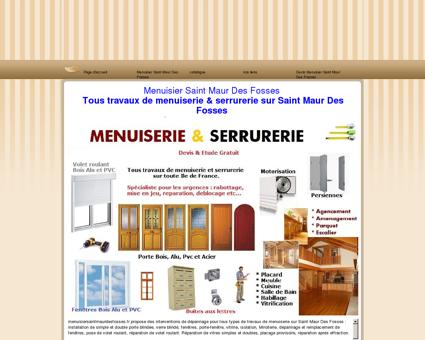 Menuisier Saint Maur Des Fosses tel:...