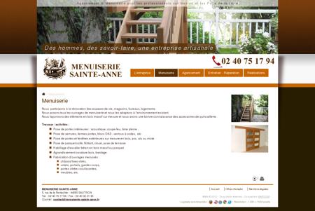 Menuiserie - Menuiserie Sainte-Anne
