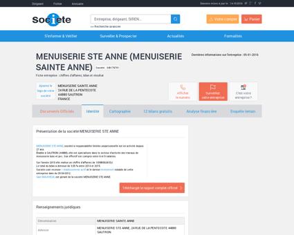 MENUISERIE STE ANNE (MENUISERIE SAINTE...