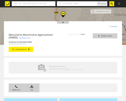Menuiserie Maconnerie Agencement Sainte...