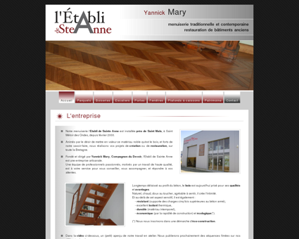 Menuiserie Saint Malo Yannick MARY L'Etabli...