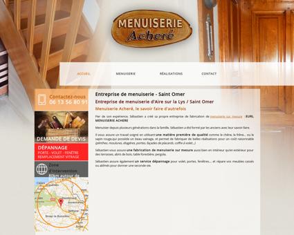 Entreprise menuiserie Saint Omer -...