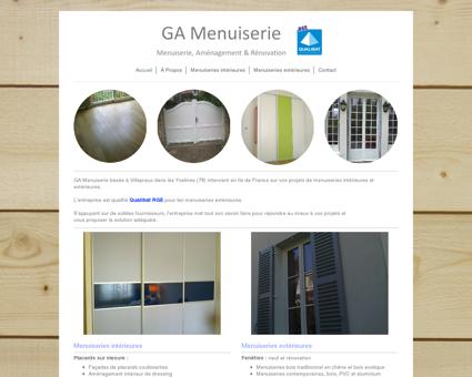 GA Menuiserie - Artisan menuisier