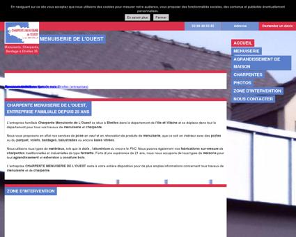 Menuiserie (entreprises) - CHARPENTE...