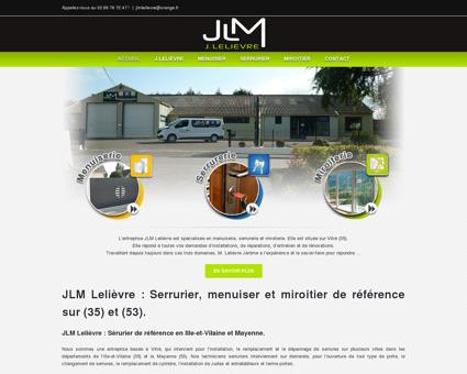 JLM Lelièvre - Menuisier Serrurier Miroitier à...