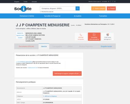 J J P CHARPENTE MENUISERIE (SAINT...