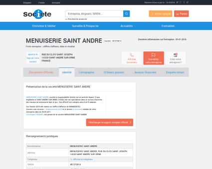 MENUISERIE SAINT ANDRE (SAINT ANDRE...