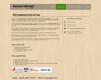 Votre artisan RGE QUALIBAT | Menuiserie...