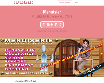 Menuiserie & Menuisier 95400 Villiers-le-bel...