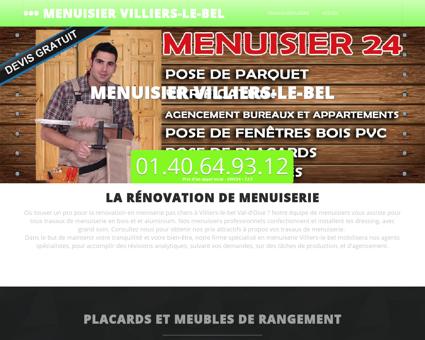 Atelier Menuisier Villiers-le-bel l'assurance...