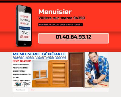 Menuiserie & Menuisier Villiers-sur-marne -...