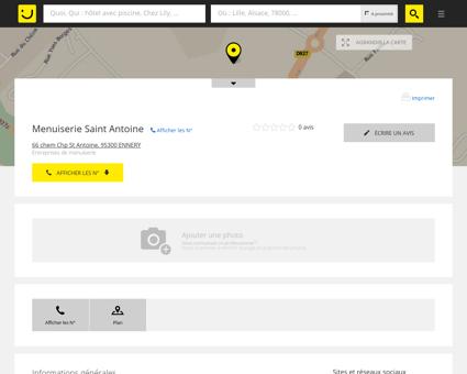 Menuiserie Saint Antoine Ennery (adresse)