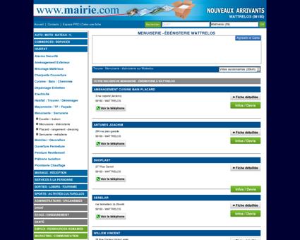 Menuiserie - ébénisterie Wattrelos : Mairie.com