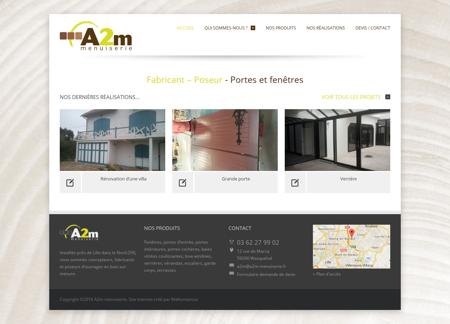 A2m menuiserie | Fabricant et poseur- Portes...