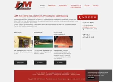 Menuiserie Castelnaudary - J2M MENUISERIE :...