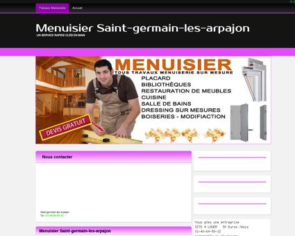 Entreprise Menuisier Saint-germain-les...