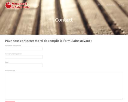 Contact - La Menuiserie de Saint Félix