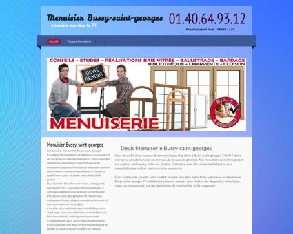 Artisan Menuisier Bussy-saint-georges, Seine...