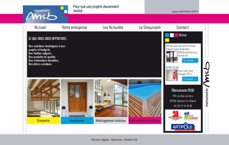 Menuiserie MSB - Menuisier à Talmont Saint...