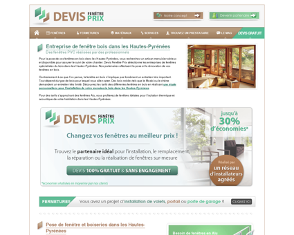 Fenêtres bois Hautes-Pyrénées : pose de...