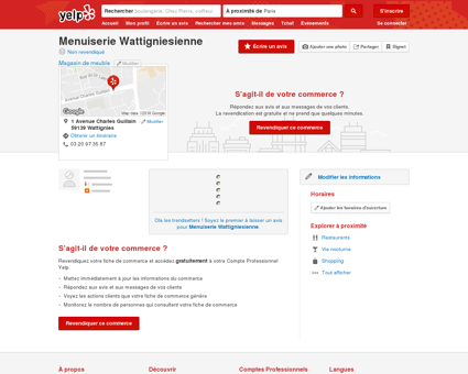 Menuiserie Wattignisienne - Magasin de...