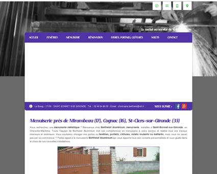 Menuiserie, fenêtre  Cognac | Berthelot...