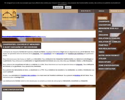 Menuiserie Lot-et-garonne | charpente-menuiserie-correia.fr