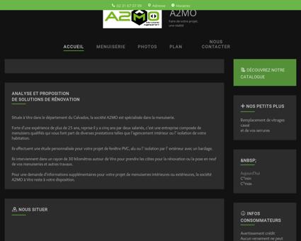 Menuiserie (entreprises) - A2MO à Vire