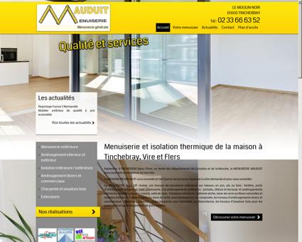 Menuiserie et isolation thermique de la...