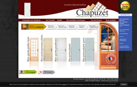 Menuiserie Guy Chapuzet - Portes d'interieure