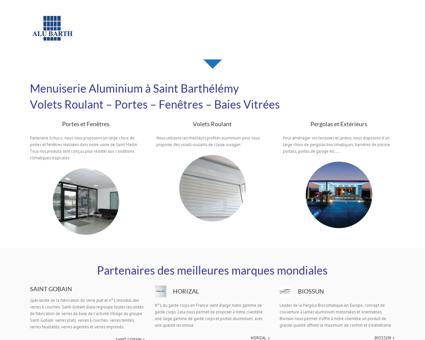 Alubarth - Menuiserie Aluminium - Saint...