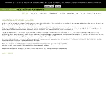 Menuiserie (entreprises) - Multi Services...