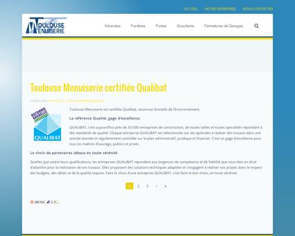 ACCUEIL - Toulouse Menuiserie - Depuis 1996...
