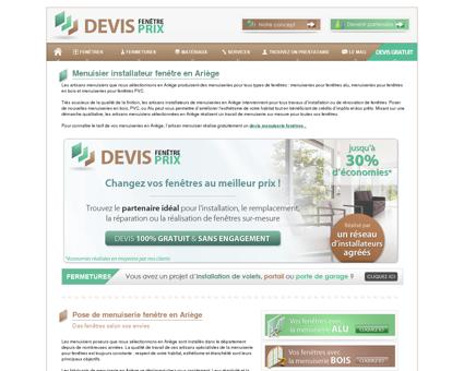 Menuiserie fenetre Ariège : artisan menuisier 09