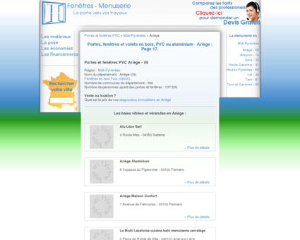 Page 17 | menuiserie, Portes et fenêtres PVC,...