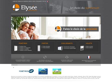 Elysée Menuiseries - Fabricant français de...