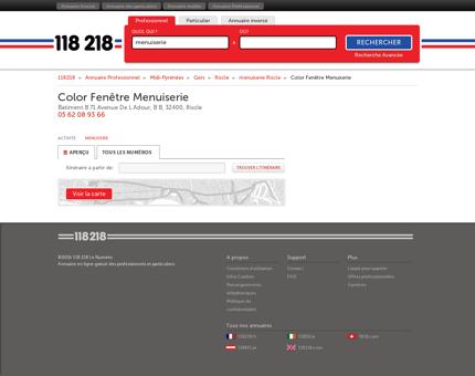 Color Fenêtre Menuiserie - Batiment B 71...