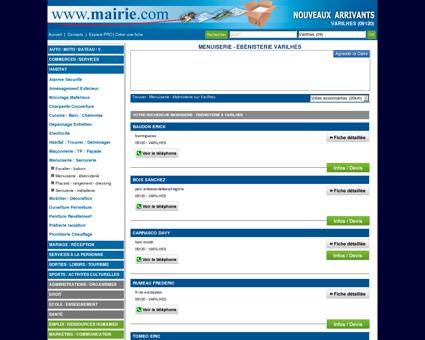 Menuiserie - ébénisterie Varilhes : Mairie.com
