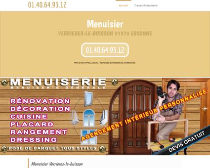 Société Menuisier Verrieres-le-buisson   devis...