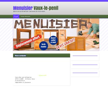 Menuiserie & Menuisier 77000 Vaux-le-penil  ...