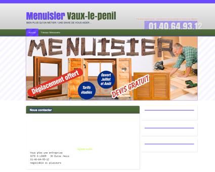Menuiserie & Menuisier Vaux-le-penil,...