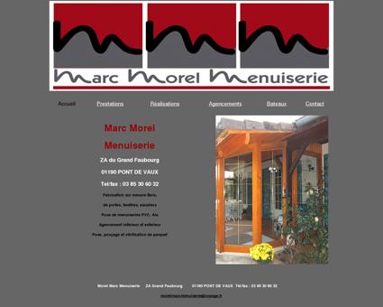 Menuiserie Pont de Vaux (01 Ain) Morel Marc...