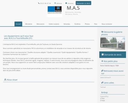 M.A.S à Tournefeuille en Haute-Garonne (31)