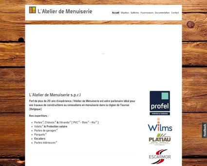 L'Atelier de Menuiserie | Tournai | Volets ,...