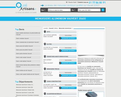 Menuisier aluminium Vauvert 30600