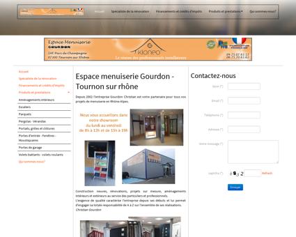 Accueil Espace menuiserie Gourdon | Espace...