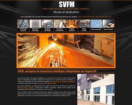 SVFM, entreprise de menuiserie métallique à...