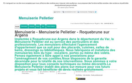 Menuiserie - Menuiserie Pelletier à...